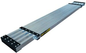 Metaltech Work Plank 13 Ft Slip Resistant Surface Telescoping Aluminum