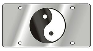 New Yin Yang Novelty License Plate