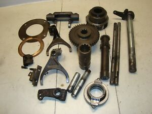 1960 Massey Ferguson 65 Tractor Misc Transmission Parts Forks Sliders Bearing