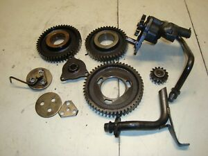 1960 Massey Ferguson 65 Diesel Tractor Engine Timing Gears Oil Pump
