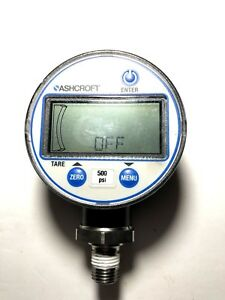 Ashcroft Digital Pressure Gauge 500 Psi