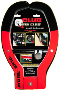 The Club Tire Claw Xl Anti theft Device Wheel Lock Car Vehicle Trailer Atv Boat