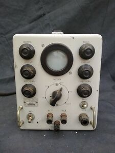 Vintage Rare Ussr Oscilloscope Attachment Op 59 Low frequency