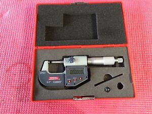 Spi Digital Outside Micrometer 0 1 Resolution 00005 machinist Tools