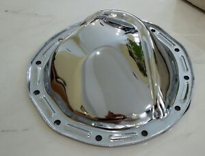 12 Bolt Chevy Chrome Differential Rear End Axle Cover Sum g3875