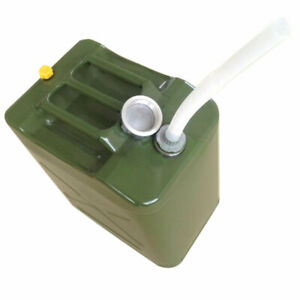 Metal Jerry Can 5 Gallon 20 L Fuel Tank Petrol Diesel Can For Spare Oil Storage