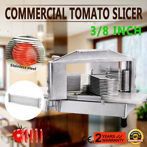 Commercial Fruit Tomato Slicer 3 8 cutting Machine Slicing Tools Equipment