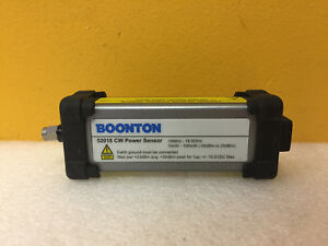 Boonton 52018 10 Mhz To 18 5 Ghz Usb To Sma m Cw Power Sensor Tested