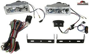 Halogen Rectangle Driving Head Light Kit New Fast Shipping