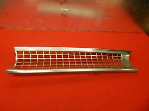 Used 55 Ford Fairlane Mainline Customline Lh Grille b5a 8151 a