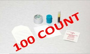 Iv Start Kits With Alcohol Pvp 100 Count Free Ship