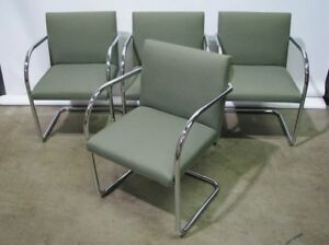 Set Of 4 Brno Chairs By Gordon International Excellent Vintage Condition