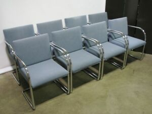Set Of 8 Brno Chairs By Gordon International Excellent Vintage Condition