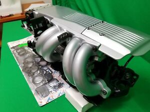 89 90 91 Chevy Corvette Powder Coated Tpi Tuned Port Intake 350 V8 5 7l
