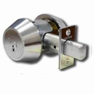 Medeco 11 c60 6 pin Single Cylinder High Security Commercial W 4 Keys