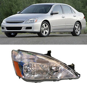 For Honda Accord 2003 07 Headlight Assembly Original Version No Bulbs