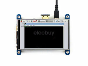 New 4 800 480 Usb Hdmi Lcd Display Resistive Touch For Raspberry Pi 3 B