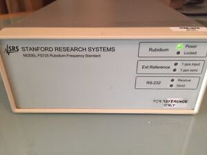 Stanford Research Fs725 Rubidium Frequency Standard