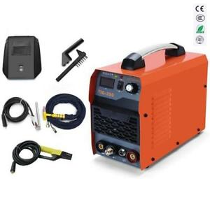 200amp Tig Arc Mma Stick Igbt Dc Inverter Welder Welding Machine 110v And 220v