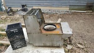 1 Hole Burner Chinese Wok Range Nsf Csa Natural Gas Commercial Restaurant