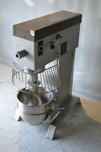 Used Berkel 60 Quart Commercial Mixer new Stainless Steel Bowl Free Shipping