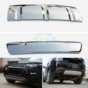 2x Front rear Bumpers Lower Retrofit Trim Glossy For Land Rover Discovery Sport