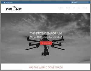 Uav Drones Website Earn 392 00 A Sale free Domain free Hosting free Traffic