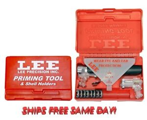 90215 Lee Priming Tool Kit INCLUDES 8 Shellholders FREE SHIPPING New $52.62
