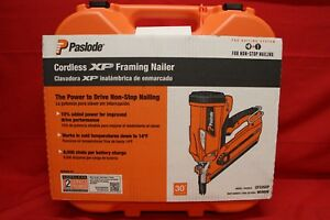 New Paslode Cordless Li ion 30 Degree Framing Nailer Nail Gun Cf325xp