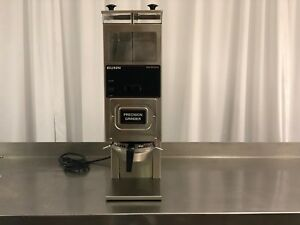 Used Bunn 24250 0021 G9 2t Dual Hopper Coffee Grinder