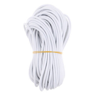 5mm Strong Elastic Rubber Shock Cord Bungee Rope Tie Down 75m 50m 30m 20m 10m