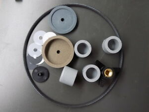 Berkel 808 818 Repair Kit Sharpening Stones Table Knob Belt Spacers Plug