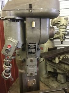 Bridgeport Shaper Shaping Head Mill Milling Machine Slotter