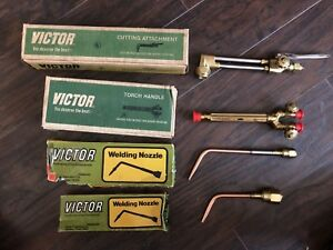 All Nib Victor Model 100c Torch ca1350 Cutting Attachment 1 w 2 whb 1 Nozzles