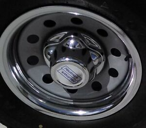 Haulmark 5 Lug 4 5 Trailer Chrome Center Cap Hub Cap Hubcap