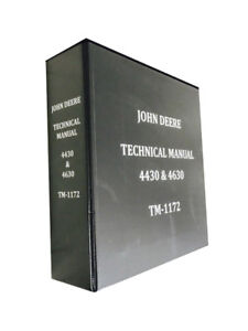 John Deere 4630 Technical Service Manual Shop Manual Tractor Book