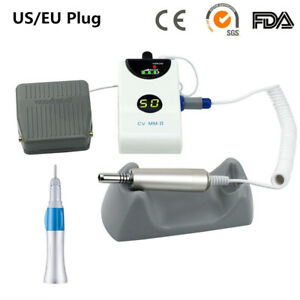 Portable Dental Micro Motor Brushless Grinding Machine 1 1 Straight Nosecone