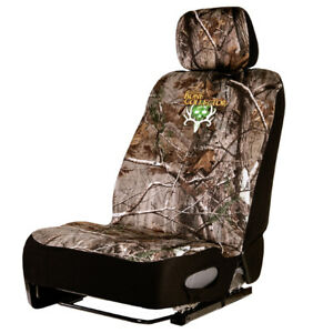 Bone Collector Lowback Neoprene Seat Cover Realtree Ap Camo