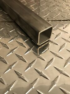 1 1 2 X 1 1 2 X 11 Gauge 304 Stainless Steel Square Tubing X 24 Long