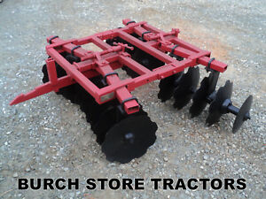 Ih Farmall 1 Pt Point Fast Hitch Double Gang Disc Harrow 140 130 Super A 100