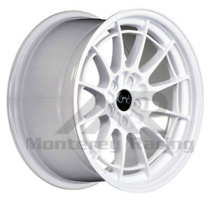 18x9 5 5x108 Jnc 033 White Made For Ford Volvo