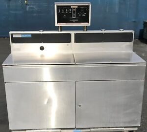 Steris Amsco Sonic Console Sc1224cd Ultrasonic Cleaning Cleaner System