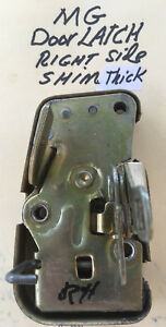 Mg Mgb Right Side Door Latch 1965 67 Rdr Gt Oem Used
