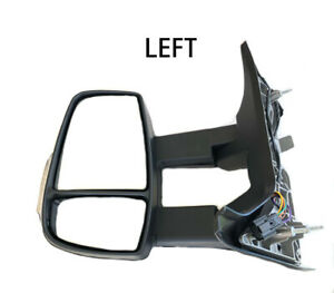 New Ford Transit 250 350 Long Arm Mirror Power Adjustable Left Driver 2014 2017