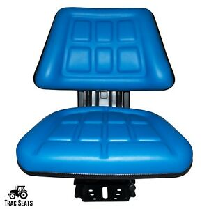 Blue Ford New Holland 2310 2810 3010 Triback Style Tractor Suspension Seat