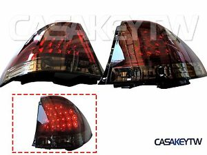 New Led Red Smoke Tail Lights Rear For Is200 Is300 1998 2005 Altezza Lexus Is