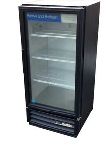 True Gdm 10 10 Cu Ft Commercial Refrigerator With Led Glass Door