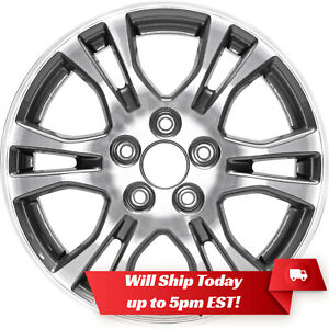 New Set Of 4 17 Replacement Alloy Wheels W Centers For 2005 2013 Honda Odyssey