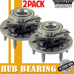 Dorman 99 06 Chevy Silverado 1500 Tahoe Escalade 2 Front Wheel Bearing