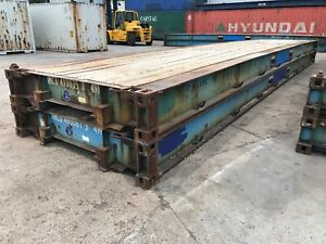 40 Plat Form Pf Container